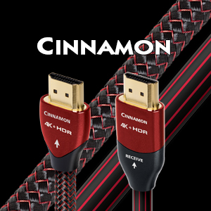 AudioQuest - Câble HDMI Cinnamon 1.5m (5') HDMICIN01.5