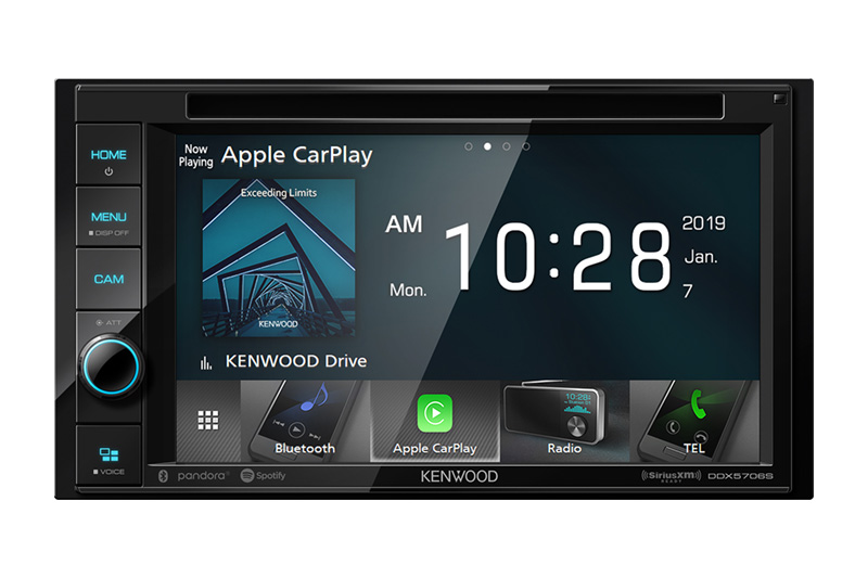 Kenwood - Radio Numérique Multimédia Bluetooth DDX5706S
