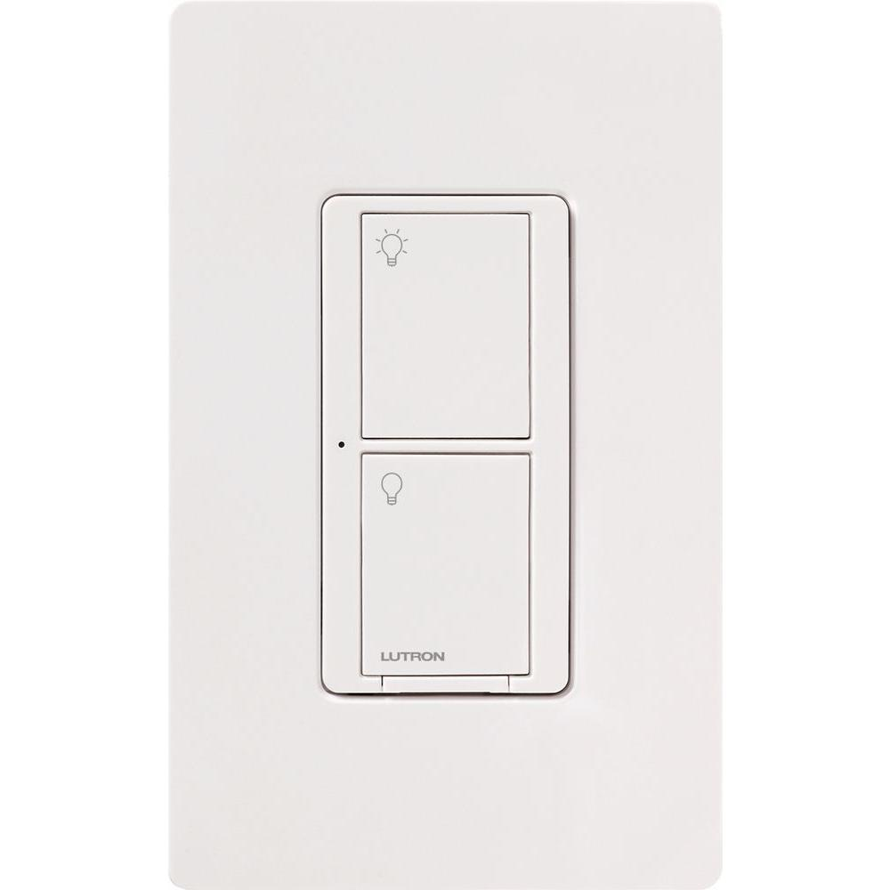 Lutron - Commutateur neutre mural - PD6ANSWHC