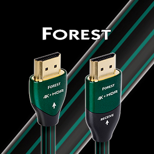 AudioQuest - Câble HDMI Forest 3m (10') HDMIFOR03