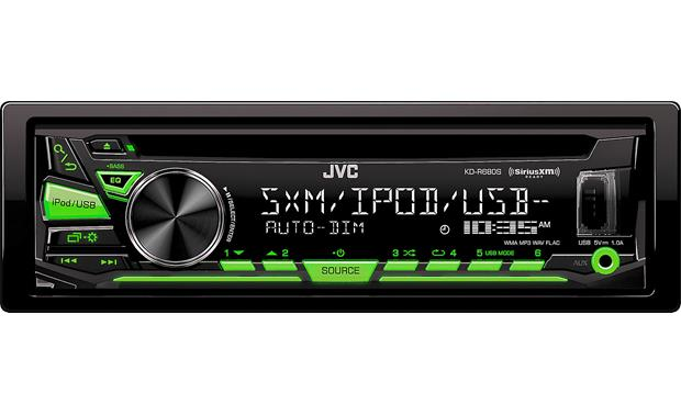 JVC Radio d'auto simple DIN lecteur CD KDR680S
