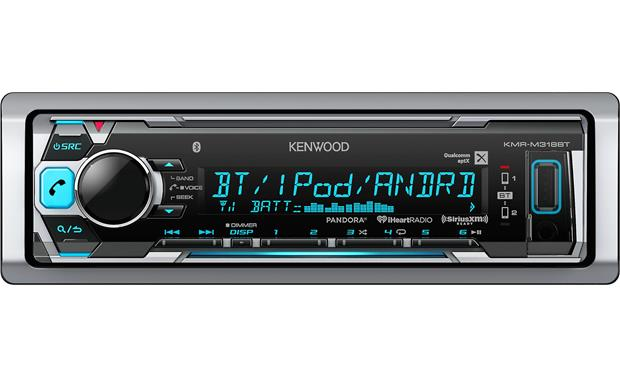Kenwood - lecteur multimedia marin bluetooth sans CD KMRM318BT