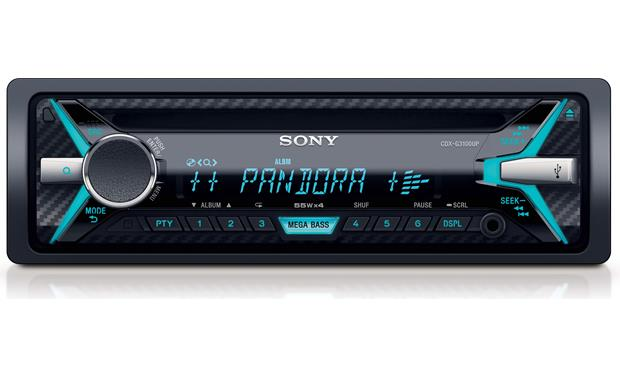 Sony - Lecteur CD Simple DIN CD radion AM / FM CDXG3100UP