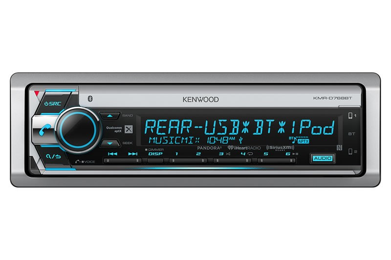 Kenwood - Lecteur CD marine KMR-D768BT