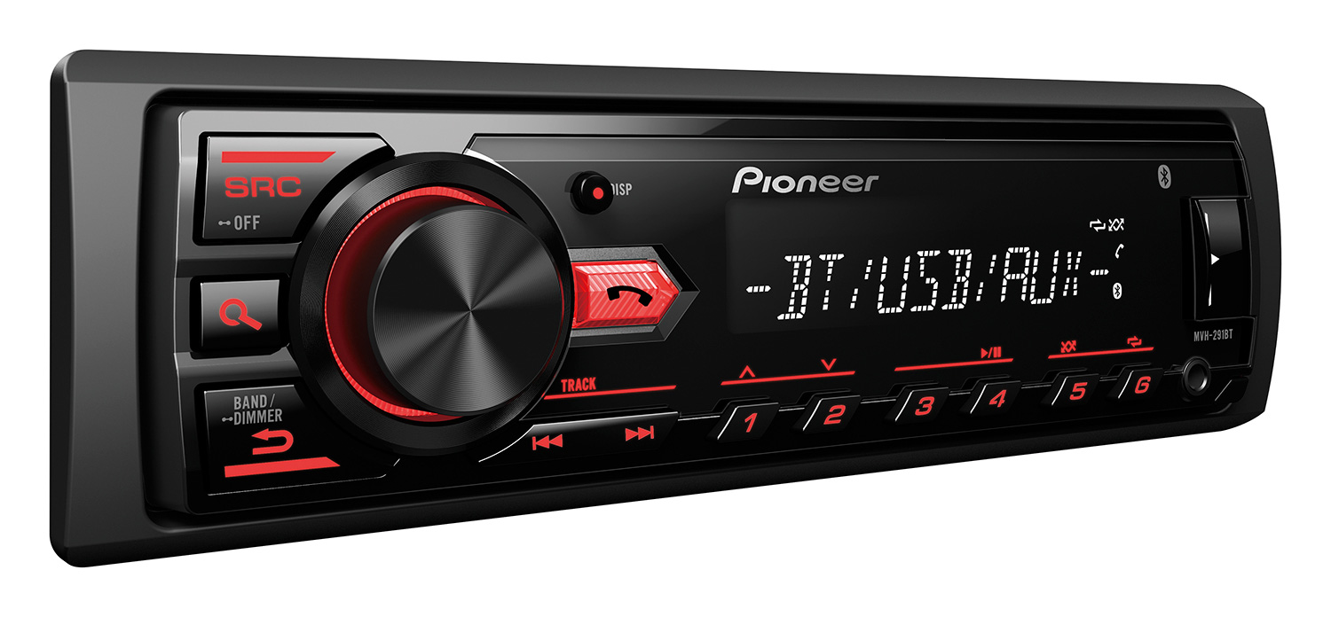 Pioneer - Radio numérique USB Bluetooth USB MVH291BT