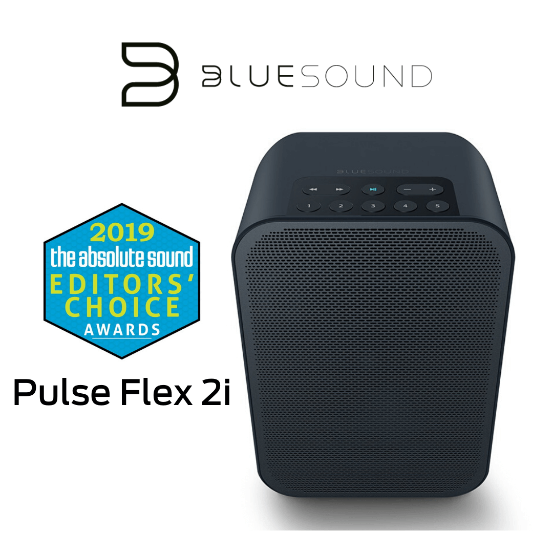 Bluesound - Pulse Flex 2i - Haut-parleur portable, multipièces sans fil